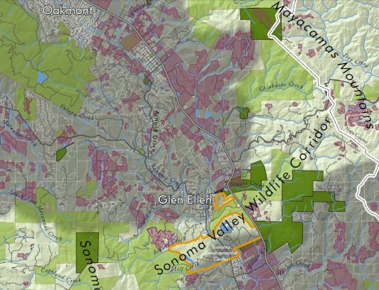 presentation on sdc wildlife corridor map