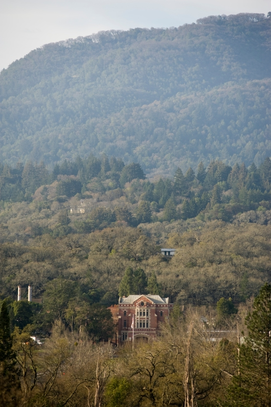 Sonoma Developmental Center's Main Building